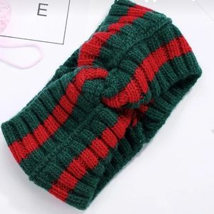 Winter Cross Knot Fashion Headband